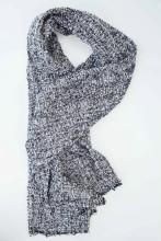 Design_Twister. Description_Black_Close_Weave. Material_ Silk. AvailableColours_blackandwhite. Price_65euro